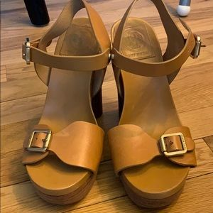 Tory Burch leather heels